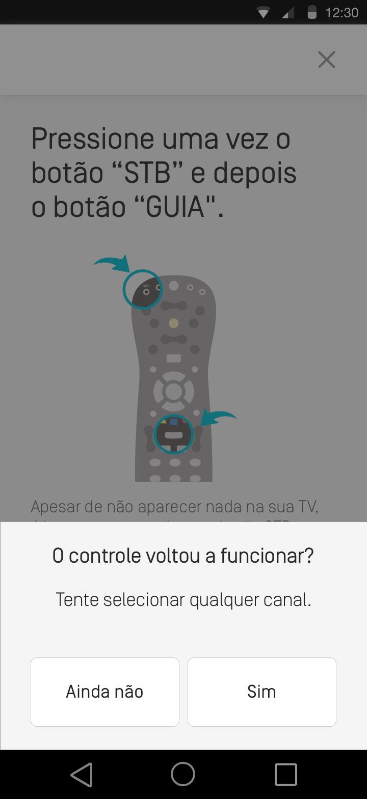 Meu controle de TV Oi Fibra está travado. Como resolver - 8